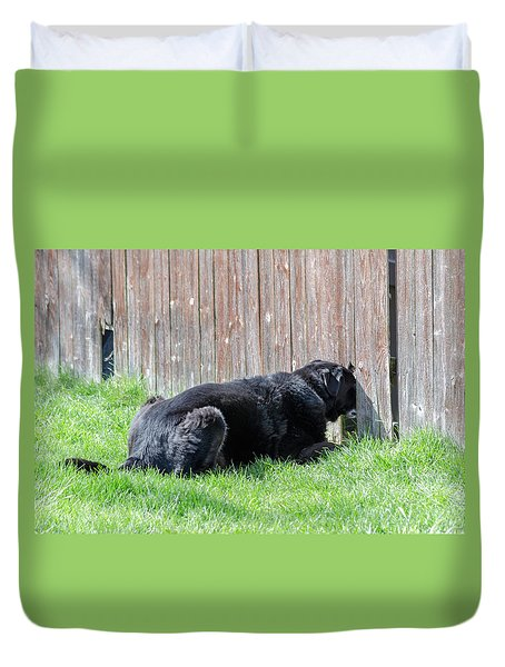 Greener Grass Duvet Cover