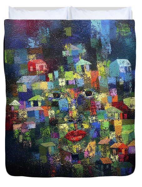 Greener Where You Are Duvet Cover by Ronex Ahimbisibwe