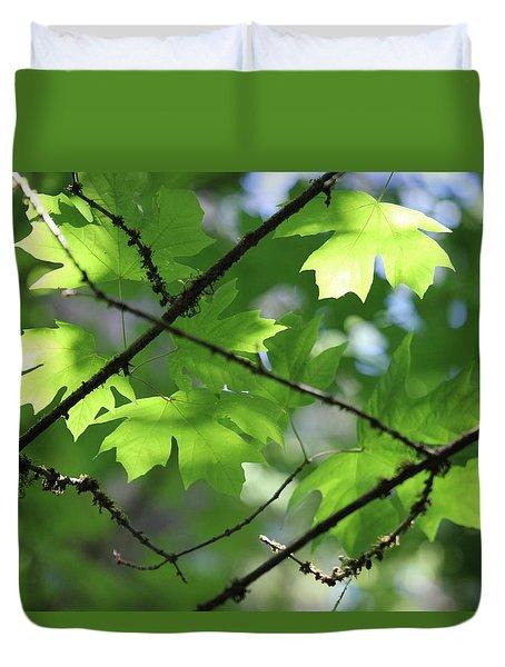 Greenleaves Duvet Cover