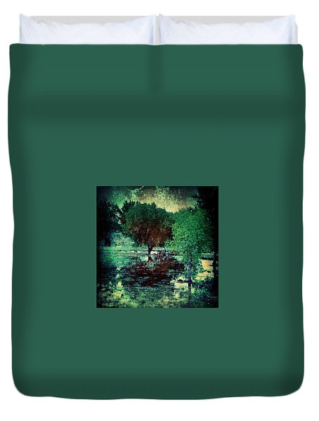 Greenscape Duvet Cover