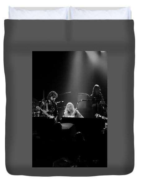 Greg Allman  Duvet Cover by Kevin Cable