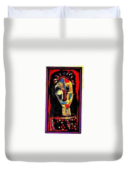 Gregor Duvet Cover by Al Goldfarb