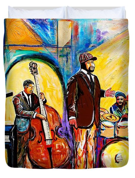Gregory Porter And Band Duvet Cover