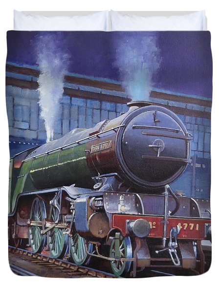 Gresley Green Arrow Class. Duvet Cover