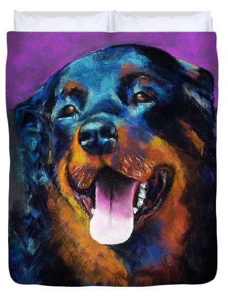 Gretchen Duvet Cover by Frances Marino