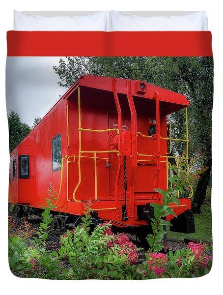 Gretna Railroad Park Duvet Cover