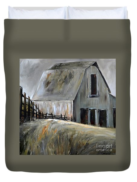 Grey Barn Duvet Cover