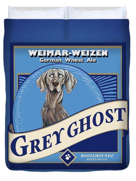 Grey Ghost Weimar-weizen Wheat Ale Duvet Cover