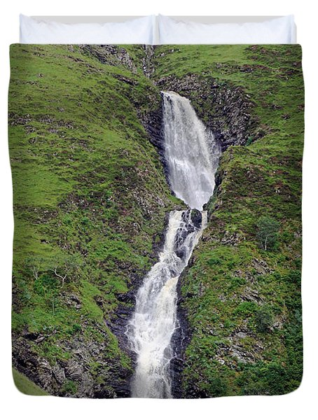 Grey Mare's Tail Duvet Cover