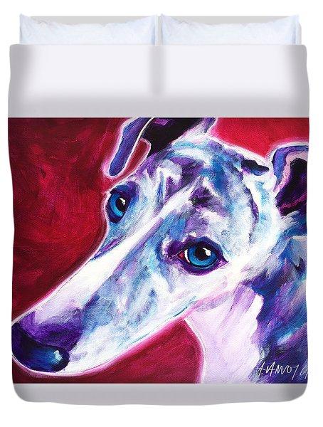 Greyhound - Myrtle Duvet Cover