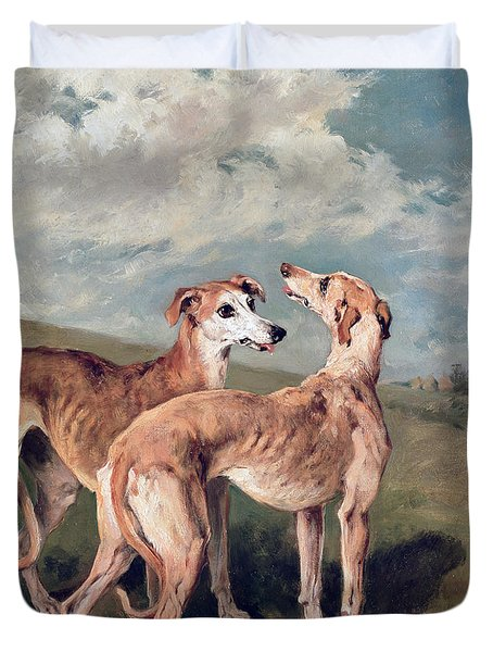Greyhounds Duvet Cover
