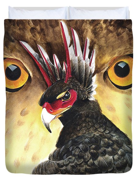 Griffin Sight Duvet Cover by Melissa A Benson