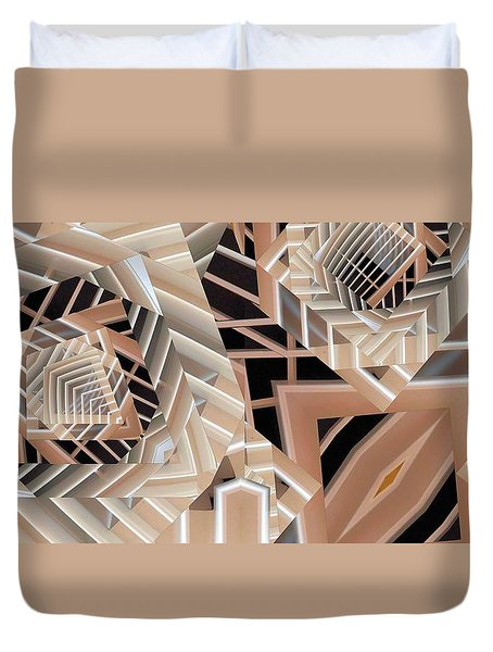 Grilled Duvet Cover by Ron Bissett