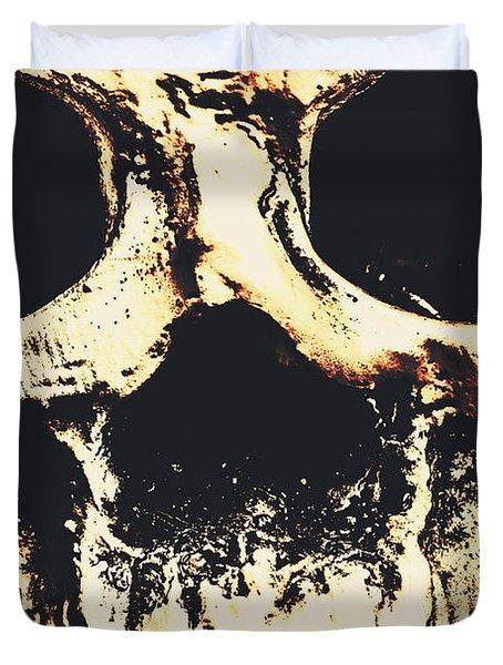 Grim Grin Duvet Cover