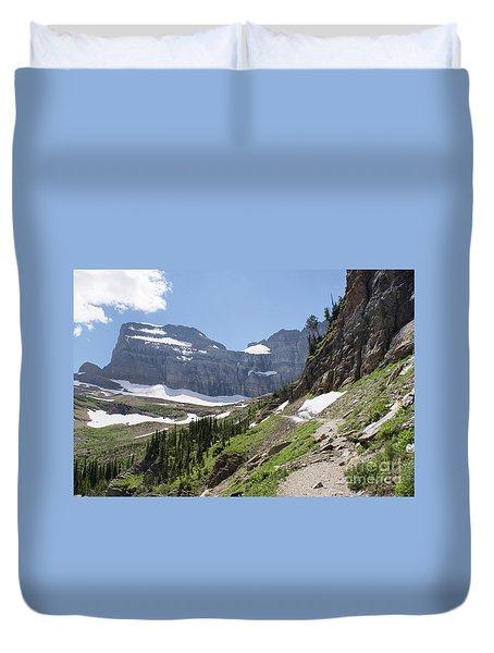 Grinnell Glacier Trail - Glacier National Park Duvet Cover