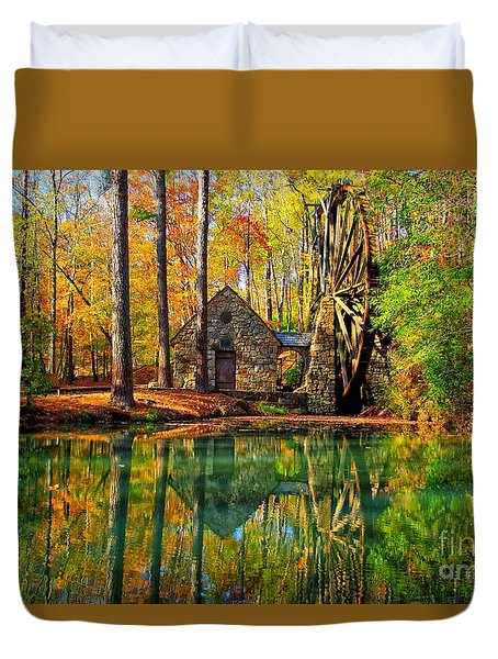 Grist Mill Duvet Cover by Geraldine DeBoer