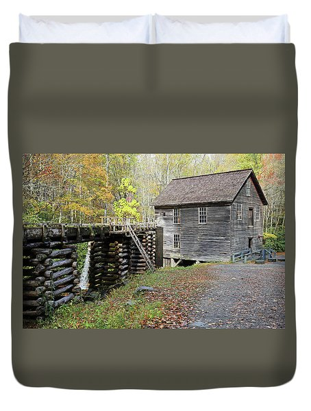 Grist Mill Duvet Cover by Lamarre Labadie