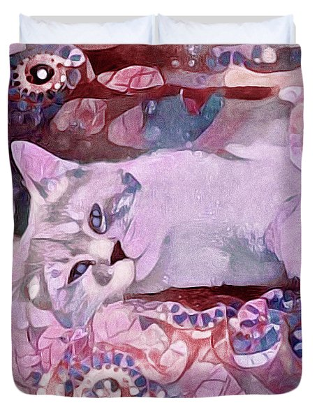 Grizabella Duvet Cover