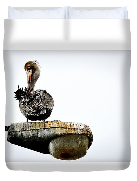 Grooming Time Duvet Cover