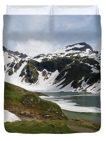 Grossglockner High Alpine Road Duvet Cover
