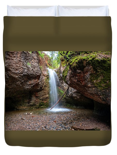 Grotto Falls Duvet Cover