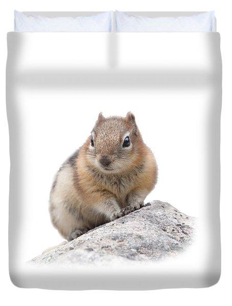 Ground Squirrel T-shirt Duvet Cover