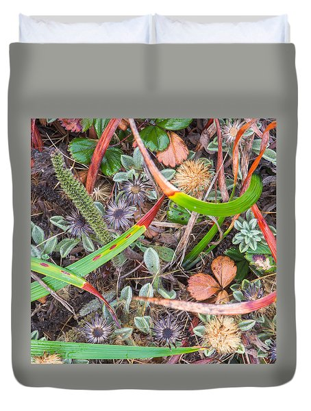 Groundcover Colors And Patterns 2 Duvet Cover