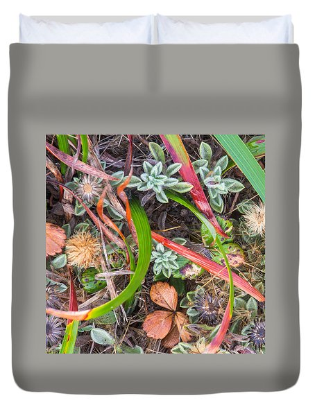 Groundcover Colors And Patterns 3 Duvet Cover