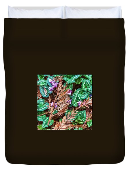 Groundcover Colors And Patterns Duvet Cover