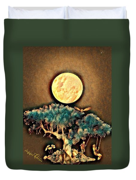 Grounding Duvet Cover by Vennie Kocsis