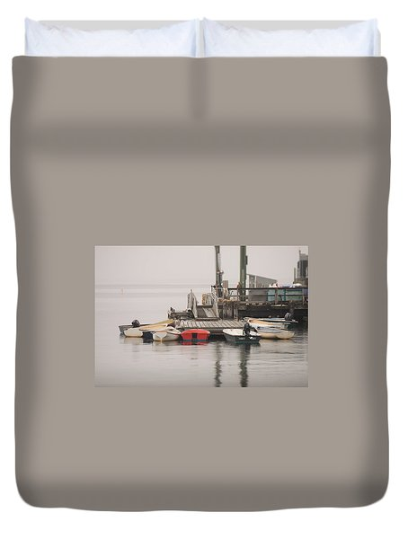 Group Meeting Duvet Cover by Jewels Blake Hamrick