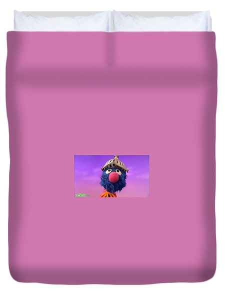Grover Duvet Cover