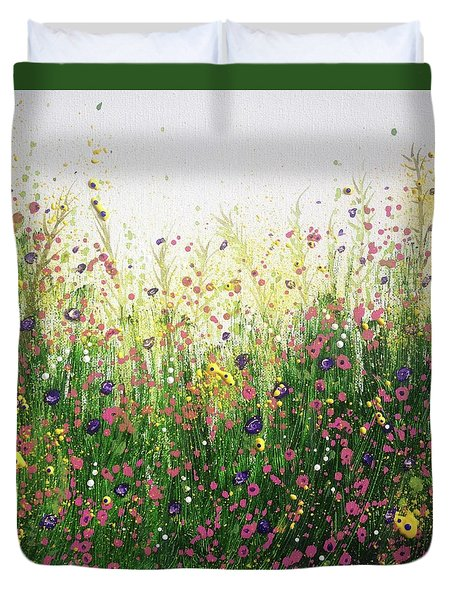 Grow Freely In The Beauty And Joy Of Each Day Duvet Cover