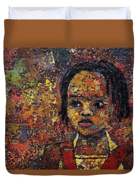 Growing Dreads 2 Duvet Cover by Ronex Ahimbisibwe