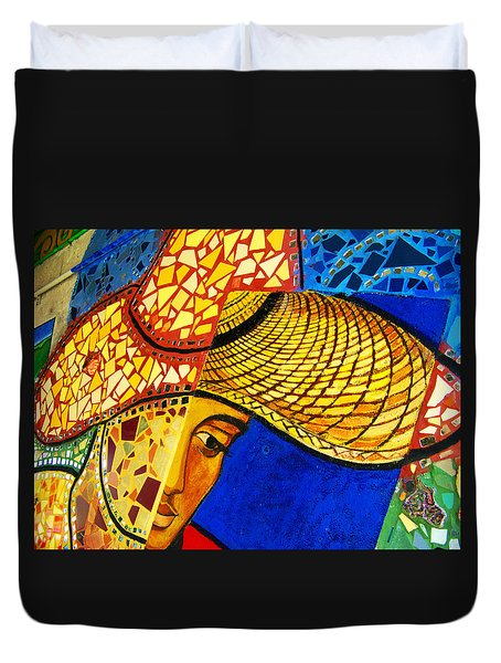 Growing Edgewater Mosaic Duvet Cover by Kyle Hanson