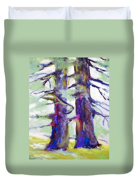 Growing Together Duvet Cover