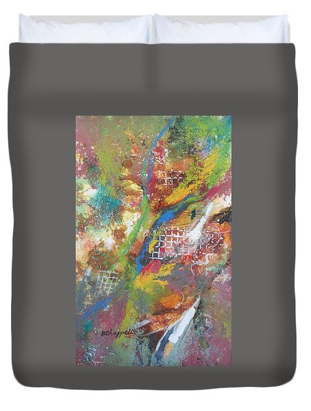 Growth Duvet Cover by Becky Chappell
