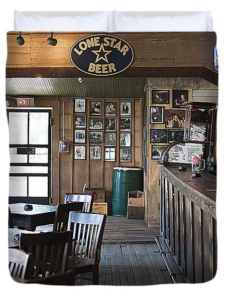 Gruene Hall Bar Duvet Cover