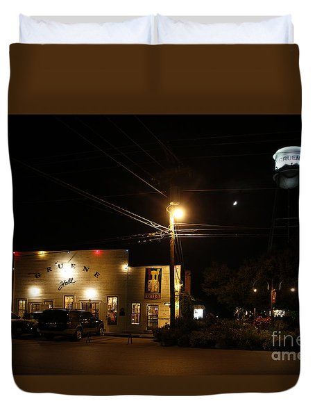 Gruene Hall Duvet Cover