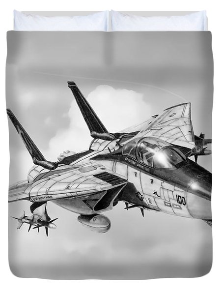 Grumman F-14 Tomcat Duvet Cover