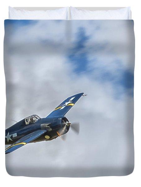 Grumman F4f Wildcat Duvet Cover