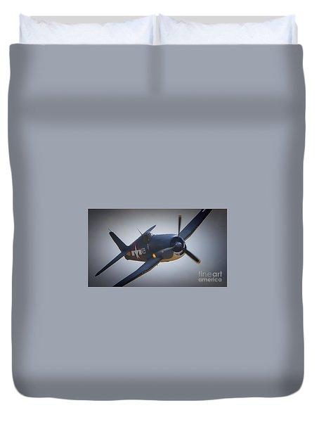 Grumman F6f Hellcat K-29 Duvet Cover