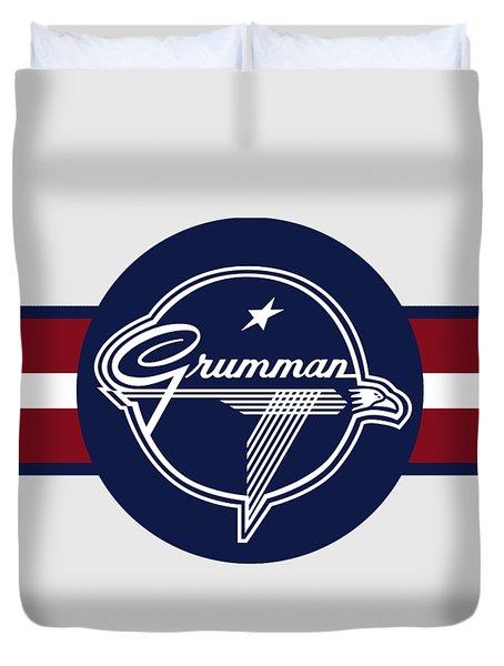 Grumman Stripes Duvet Cover