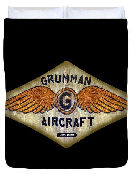 Grumman Wings Diamond Duvet Cover