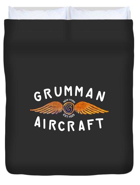 Grumman Wings Gold Duvet Cover