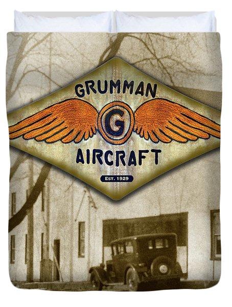 Grumman Wings Duvet Cover