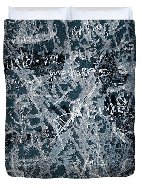 Grunge Background I Duvet Cover by Carlos Caetano