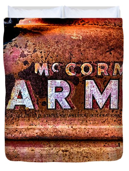 Grunge Mccormick Farmall  Duvet Cover