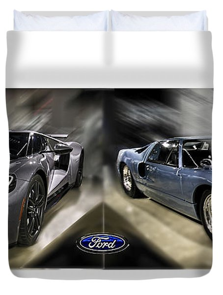 Gt40 Evolution Duvet Cover