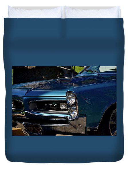 Gto Detail Duvet Cover by Dean Ferreira